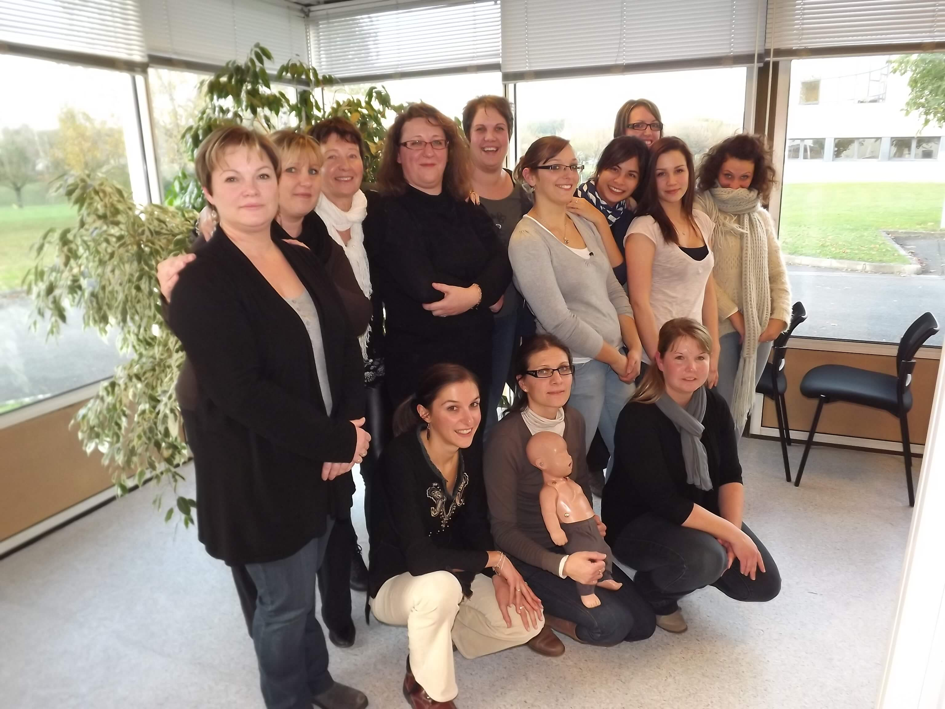 Photo Groupe Formation au secourisme